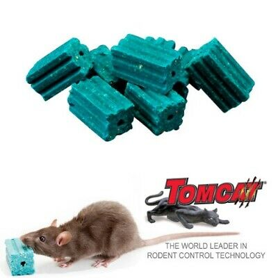 TOMCAT ALL WEATHER BLOX 8kg Rat Bait Mouse Poison Rodenticide Bromadiolone