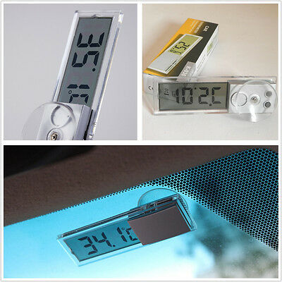 Car SUV Front Windscreen LCD Digital Thermometer Display Temp Meter For Daihatsu