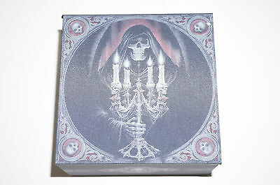 Anne Stokes Skull Head Candelabra Box Keepsake trinket Gothic Goth Jewelry