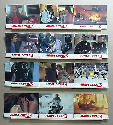 Lethal Weapon 3 MEL GIBSON DANNY GLOVER RENNE RUSSO Lobby Set Spain 1992