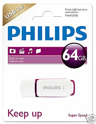 Philips Snow Edition 64 GB USB Stick USB 3.0  FM64FD75B
