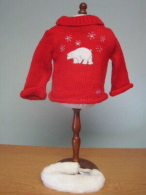 NEW American Girl Place Polar Bear Sweater Set-Retired