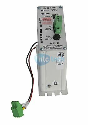 Opto 22 SNAP-PS5 Industrial Automation Power Supply 5V 4A Rack Mountable