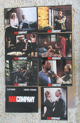 BAD COMPANY MOVIE POSTER LOBBY CARD SET OF (8) 1995 ORIGINAL 11x14 ELLEN BARKIN