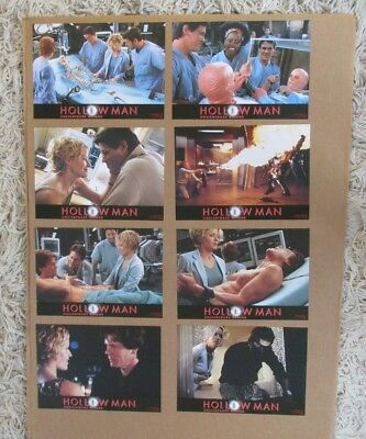 Hollow Man Movie Poster Lobby Card Set Of (8) 2000 Original 8X10 Kevin Bacon