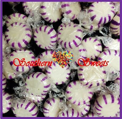 Starlights Purple & White Lollies Starlites 1Kg 165Ct Starlite Starlight Purple
