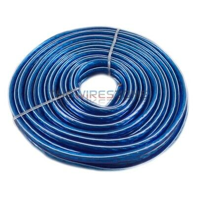 Blue 25' Feet ft 12 Gauge Ga AWG Speaker Wire Cable for Car or Home Audio