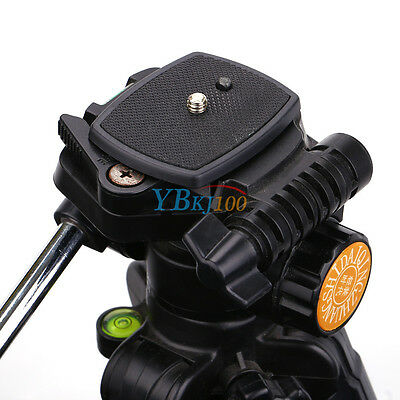 Tripod Quick Release Plate Screw Adapter Tripod Head For Sony Dslr Slr Camera ZB