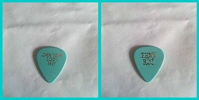 Cher Tour 2002 'Beef' Guitar Pick RARE