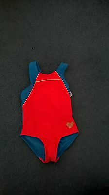 BNWT baby Girl's swimwear Size 1 swimmers bathers togs swimmers one piece