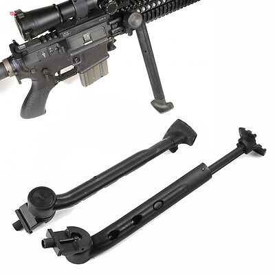 """Hunting Low Profile 8""""-11"""" 3 Level Bipod Side 20mm Picatinny Mounted Heavy Duty"""
