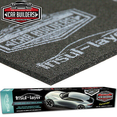 CAR BUILDERS INSUL-LAYER THERMAL INSULATION PROOFING vs Dynamat Dynaliner