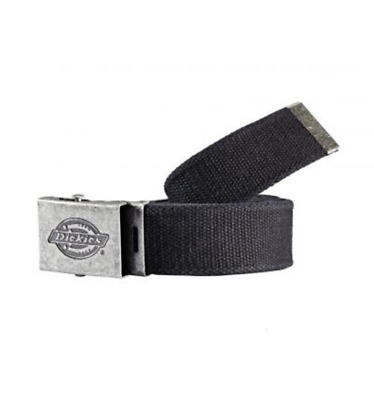 Dickies Canvas Belt - BE500 Black One Size - Workwear Casual Work Belt