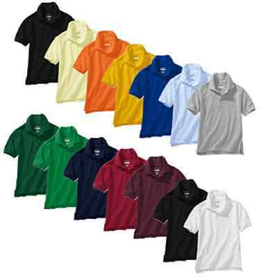 Authentic Galaxy School Uniform Unisex Short Sleeve Polo Shirts All Colors,Sizes