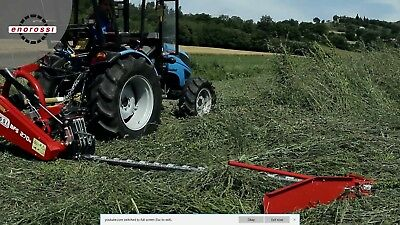 Sickle Bar Mower EnoRossi 9 foot with hydraulic cutter lift and extra sickle bar