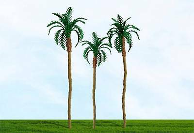 "MP Scenery - N Scale - 4 x Palm Trees 1 1/2 - 2"" Tall  #70428"