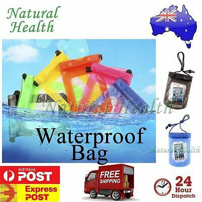 Waterproof Dry Bag Pouch Case Protector For iPod Cell iPhone MP3 Wallet Phone