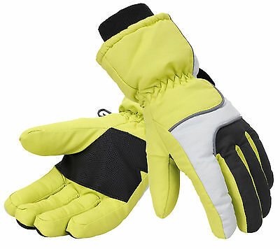 Men's Winter Warm Full Fingered Gloves Windproof Waterproof Skiing Snow Cycling