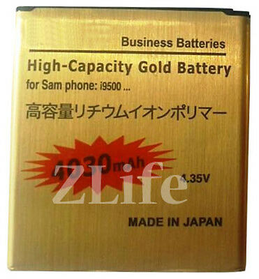 4030mAh New Genuine Capacity Gold Battery for Samsung Galaxy S4 GT-i9500 i9505