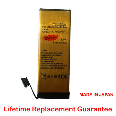 High Capacity New Replacement Gold Battery for iPhone 5 ONLY 2980mAh from UK