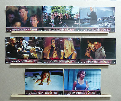 VALENTINE David Boreanaz, Denise Richards, Marley Shelton Lobby Set Spain 2001