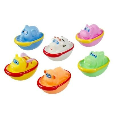 Happy People Badeschiffchen, 7cm (6er Pack)