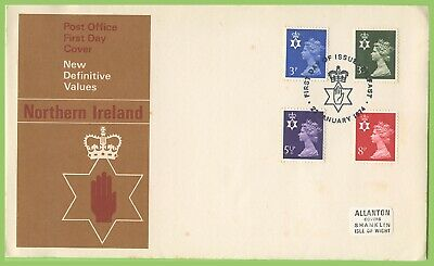 G.B. - Northern Ireland 1974 4 Regionals on Post Office First Day Cover, Belfast