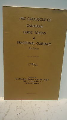 A 1957 Catalogue of Canadian Coins, Tokens & Fractional Currency