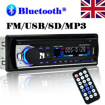 Bluetooth Car Radio Stereo HeadUnit Player In-dash MP3/USB/SD/FM/Iphone Non CD