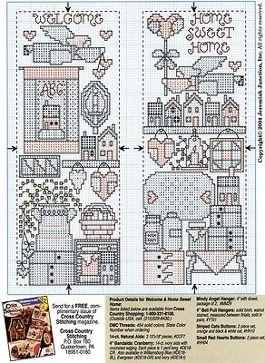 Collection of Cross Country Stitching Magazine from 1989 to 2012 on DVD