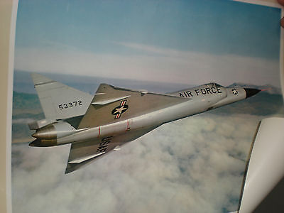 USAF Convair F-102 All Weather Interceptor poster