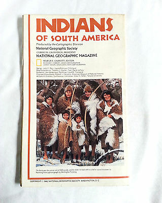 National Geographic Map Indians of South America