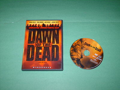 Dawn of the Dead (DVD, 2004) Unrated Director's Cut; Widescreen