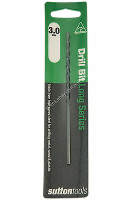 1 Piece Sutton Metric HSS Long Series Drill Bits For Metal, Wood, Plastic