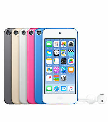 "APPLE iPOD TOUCH 32GB 6th GEN (2015 MODEL) BRAND NEW PINK ""AUSLUCK"""