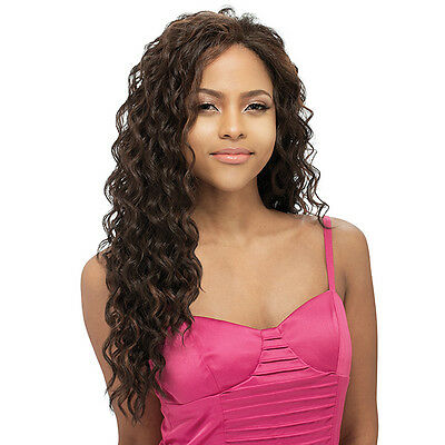 Shake-N-Go Freetress Equal Synthetic Natural Hairline Lace Front Wig  - JEALOUSY