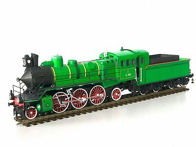 """Train Model Kit of Steam Type """"S"""" or """"Russian Prairie"""" scale HO 1:87 - Magazine"""