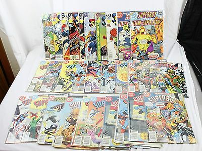 Lot of 30 DC Comics Super Boy, Legion Of Super Heroes And The Animated Series