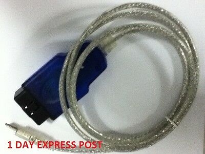 Vr Vs Vt Vx Vy Aldl Diagnostic Usb Cable Holden Commodore Airbag Pcm Scan Tool