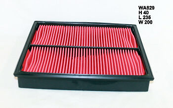 Wesfil Air Filter WA829 fits Ford Courier PC 2.6 i 4x4,PC 2.6 i,PD 2.6 i 4x4,...