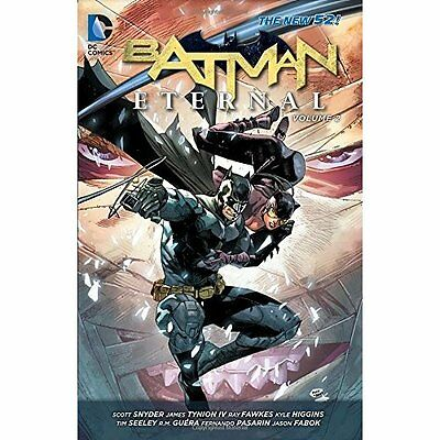 Batman Eternal Volume 2 Snyder Seeley Fabok DC Comics Paperback /. 9781401252311