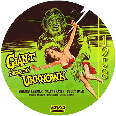 """Giant from the Unknown (1958) Sci-Fi and Horror NR CULT """"B"""" Movie DVD"""