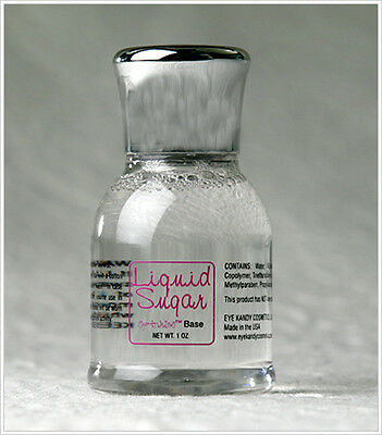 Eye Kandy Liquid Sugar for Sprinkles Eye & Body Glitter or Minerals Free Ship