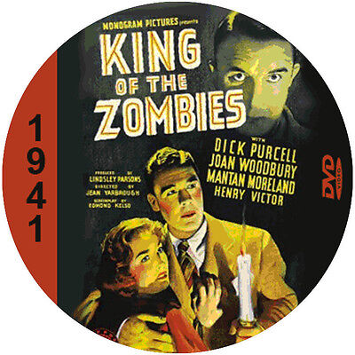 "King of the Zombies (1941) Sci-Fi  and Horror NR CULT ""B"" Movie DVD"