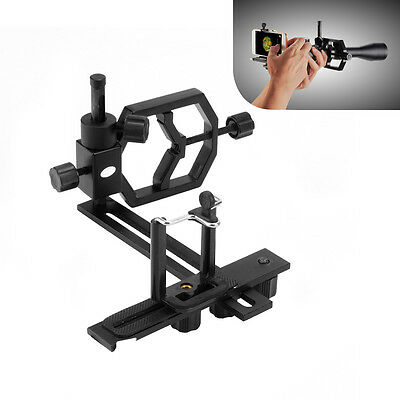 Metal Camera Adapter for Telescope Connect Cell Phone Cameras Phone holder