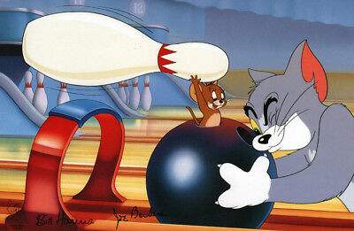 TOM and JERRY BOWLING PRINT Hanna Barbera