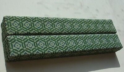 Vtg Boxed Chinese Cloisonne Chopsticks Lot of 2 Pair in Box