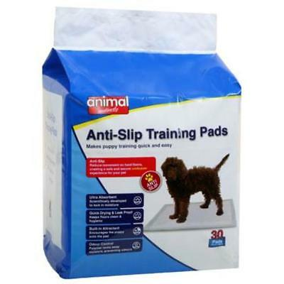 Animal Instincts Anti Slip Non Skid Puppy Toilet Training Hygiene Pads 60 x 60cm