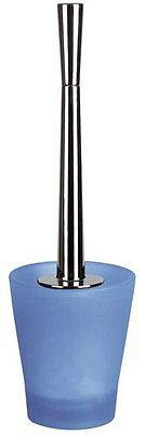 Toilet Brush Stand Cleaning Max Light Blue Swiss Branded Goods Polyresin