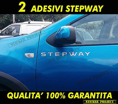 ADESIVI DACIA SANDERO STEPWAY Sportello Auto Decal Stickers
